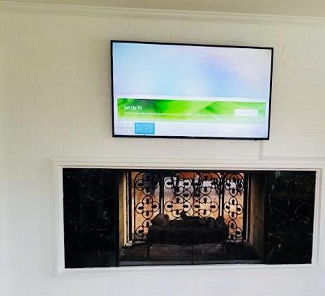 Mount a TV or frames